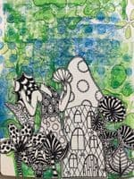 Dylusions - Rubber Stamps - Down in the Woods